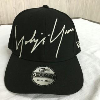 Yohji Yamamoto - yohji yamamoto x new era キャップ