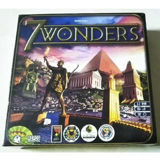 海外版7wonders 世界の七不思議 ボードゲーム(その他)