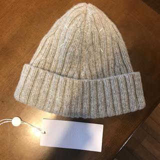 マルタンマルジェラ(Maison Martin Margiela)のメゾンマルジェラ ニット帽 ビーニー(ニット帽/ビーニー)