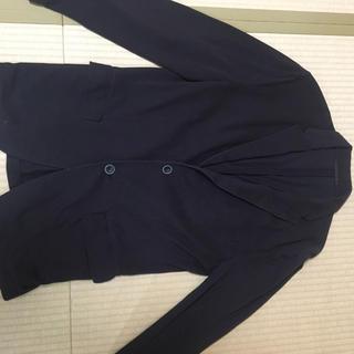 ユニクロ(UNIQLO)のUNIQLO ブラック ジャケット(ナイロンジャケット)