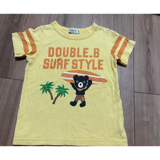 ダブルビー(DOUBLE.B)のDOUBLE.B 半袖 Tシャツ サーフ 100(Tシャツ/カットソー)