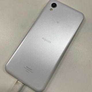 アクオス(AQUOS)のSHV43☆中古 UQモバイル ホワイト(スマートフォン本体)