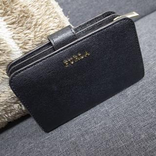 Furla - 正規品☆フルラ 折りたたみ財布 バビロン 黒 バッグ 財布 小物