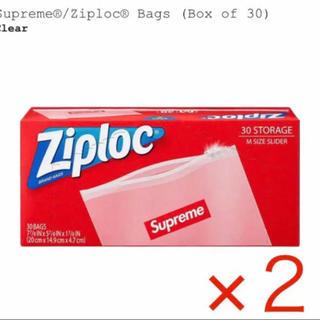 シュプリーム(Supreme)のSupreme ジップロック 2箱(収納/キッチン雑貨)