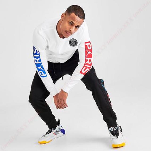 NIKE(ナイキ)のPSG JORDAN NIKE ロンT Lサイズ メンズのトップス(Tシャツ/カットソー(七分/長袖))の商品写真