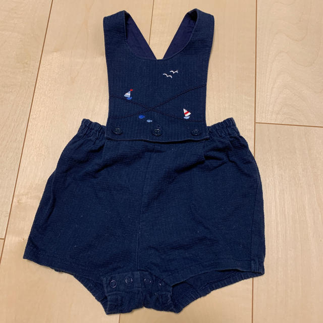 familiar(ファミリア)のファミリア サロペット 70 キッズ/ベビー/マタニティのベビー服(~85cm)(パンツ)の商品写真
