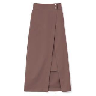 グレイル(GRL)のGRLのラップ風スリットタイトスカート(ひざ丈スカート)