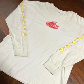 ギルタン(GILDAN)のking gnu ロングスリーブtシャツ 白 Lサイズ(Tシャツ/カットソー(七分/長袖))