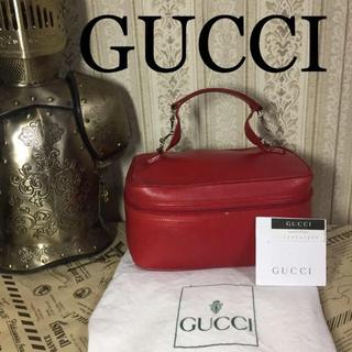 Gucci - 【人気】☆GUCCI ホースビットコスメポーチ 化粧ボックス レザー小物入れ
