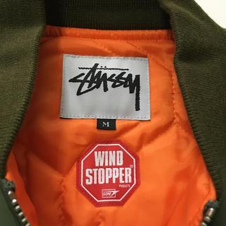 ステューシー(STUSSY)の《美品》 STUSSY MA-1   シュプリーム エイプ エクストララージ(フライトジャケット)