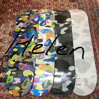 アベイシングエイプ(A BATHING APE)のBAPE エイプ スケートボード 4枚セット(その他)