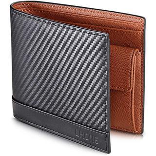 LHONE 財布 メンズ 二つ折り 本革