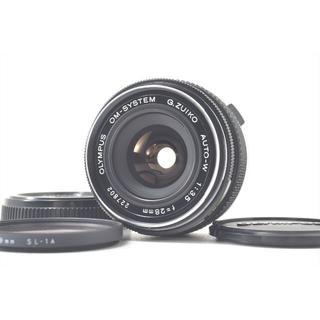 オリンパス(OLYMPUS)のOlympus OM-System G.Zuiko Auto-W 28 3.5(レンズ(単焦点))