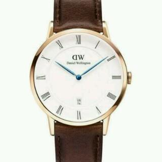 ダニエルウェリントン(Daniel Wellington)のDanielWellingtonブラウン(腕時計(デジタル))