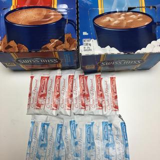 コストコ(コストコ)のスイスミス ホットココア ミルクチョコレート 10袋 コーヒー お茶 ティー(コーヒー)