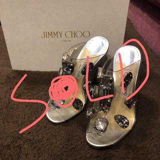 JIMMY CHOO - 極美品JIMMY CHOOレディースサンダル