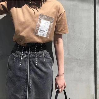 Ameri VINTAGE - 新品 AMERI VINTAGE  TAG POCKET TEE  tシャツ