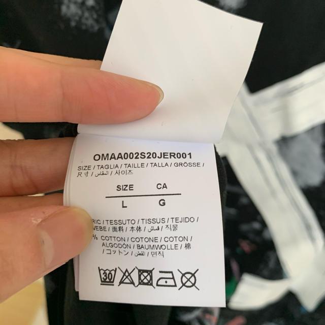 OFF-WHITE(オフホワイト)の「超希少!!新品!!」早い者勝ち!!Tシャツ off-white ギャラクシー メンズのトップス(Tシャツ/カットソー(半袖/袖なし))の商品写真