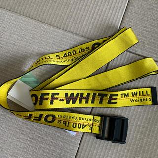 OFF-WHITE - 早い者勝ち!!新品!正規品 Off-White  インダストリアル ベルト