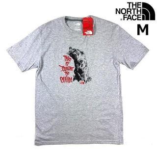 ザノースフェイス(THE NORTH FACE)のノースフェイス カナダ クマ 半袖 Tシャツ (M)グレー 180902(Tシャツ/カットソー(半袖/袖なし))