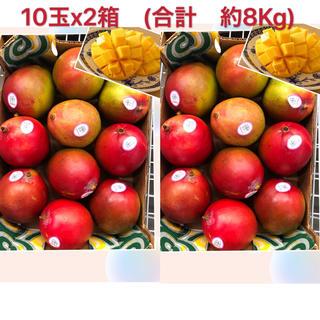 アップルマンゴー 大玉 20個(約8Kg)(フルーツ)