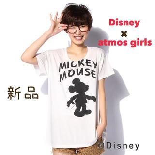 アトモスガールズ(atmos girls)のアトモスガール Disney Tシャツ ディズニー ミッキー 新品(Tシャツ(半袖/袖なし))