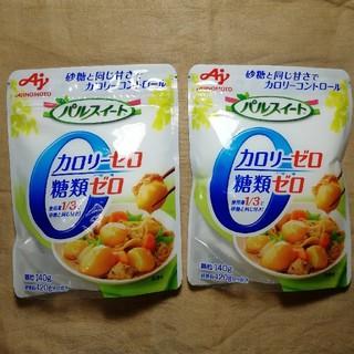 アジノモト(味の素)の味の素  パルスイート カロリーゼロ 140g袋2袋セット(調味料)