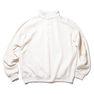 COMOLI - 新品未使用 SO ORIGINAL SNAP PULLOVER SWEAT