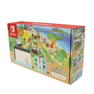 ニンテンドースイッチ(Nintendo Switch)の任天堂 あつまれどうぶつの森セット Nintendo Switch(家庭用ゲーム機本体)