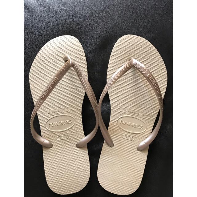 havaianas(ハワイアナス)の【今売れてます!】ハワイアナス havaianas 夏ビーチサンダル レディースの靴/シューズ(ビーチサンダル)の商品写真