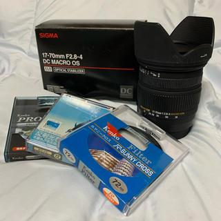 SIGMA - Canon用 SIGMA 17-70mm / フィルター4種