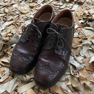 ブラウン 革靴