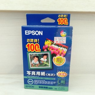 エプソン(EPSON)のepson 写真用紙 光沢 L版 100枚(その他)