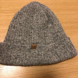 ビームス(BEAMS)のニット帽 BEAMS (グレー)(ニット帽/ビーニー)