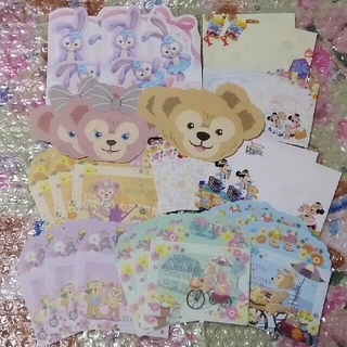 Disney - ①バラメモ ダッフィー&フレンズ 44枚