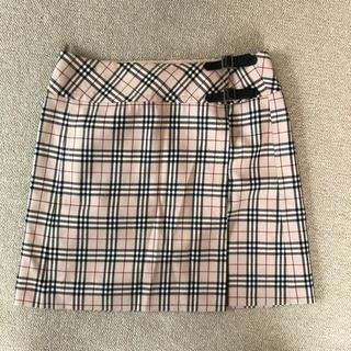 バーバリー(BURBERRY)のバーバリースカート (ミニスカート)