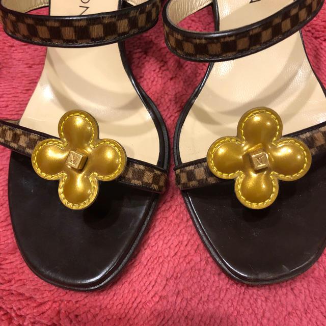 LOUIS VUITTON(ルイヴィトン)の美品ルイヴィトンサンダル レディースの靴/シューズ(サンダル)の商品写真