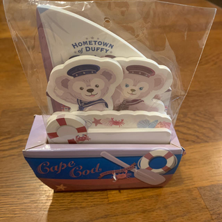 Disney - Disney ディズニー メモ帳 ダッフィー 船