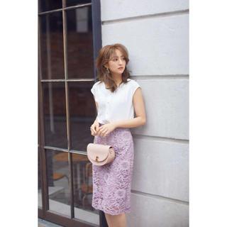 PROPORTION BODY DRESSING - プロポーションボディドレッシング新品エルフィンレースタイトスカート