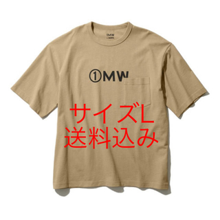 ジーユー(GU)の1MW SOPH  GU ビッグT 5部袖 KHKAI オンライン購入品(その他)