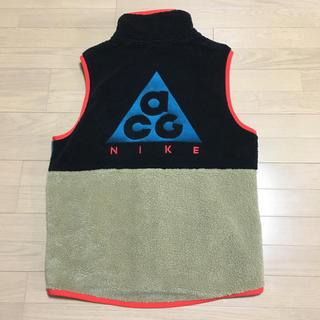 NIKE - NIKE ACG NSW VEST ナイキ ダウン ベスト ボア フリース ロゴ