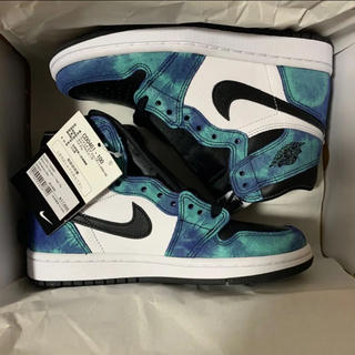 ナイキ(NIKE)のNIKE AIR JORDAN 1 HIGH OG TIE-DYE 22.5cm(スニーカー)