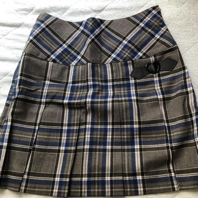 pom ponette(ポンポネット)のポンポネットjr プリーツスカート キッズ/ベビー/マタニティのキッズ服女の子用(90cm~)(スカート)の商品写真