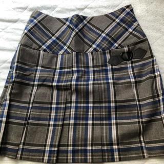 pom ponette - ポンポネットjr プリーツスカート