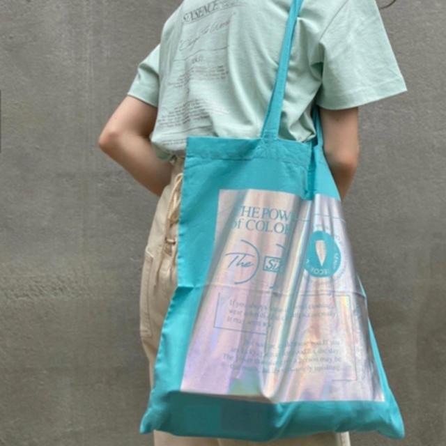 Kastane(カスタネ)の【即完売】six  senceレコード トートバッグ レディースのバッグ(トートバッグ)の商品写真