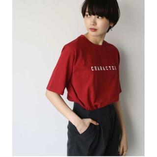 "TODAYFUL - キャナルジーン via j ""CHARACTER""ロゴ半袖Tシャツ"