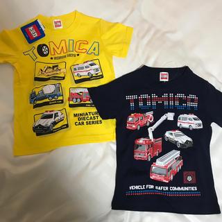 タカラトミー(Takara Tomy)の新品 トミカ 半袖シャツ Tシャツ 男の子 110 夏服 (Tシャツ/カットソー)