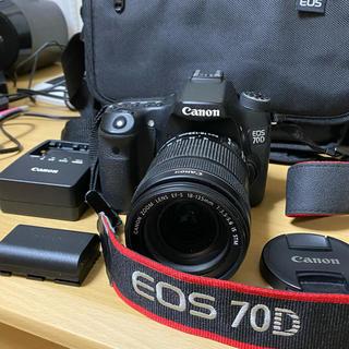 Canon - キヤノン EOS 70D レンズセット