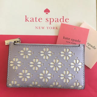 kate spade new york - Kate Spade♠︎新品 slim bifold wallet ライラック