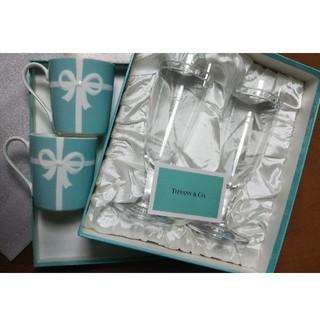 Tiffany & Co. - ティファニー ペアシャンパングラス&ペアマグカップ